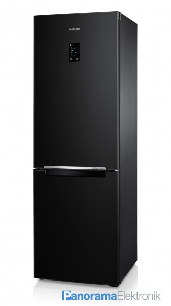 samsung rb31ferndb schwarz k hlschrank no frost 185cm k hl gefrier kombination. Black Bedroom Furniture Sets. Home Design Ideas